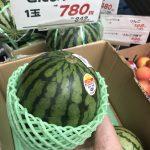 フルーツカービングレッスンで野菜やフルーツを教室付近で購入