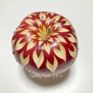 りんごカービング リンゴ飾り切り